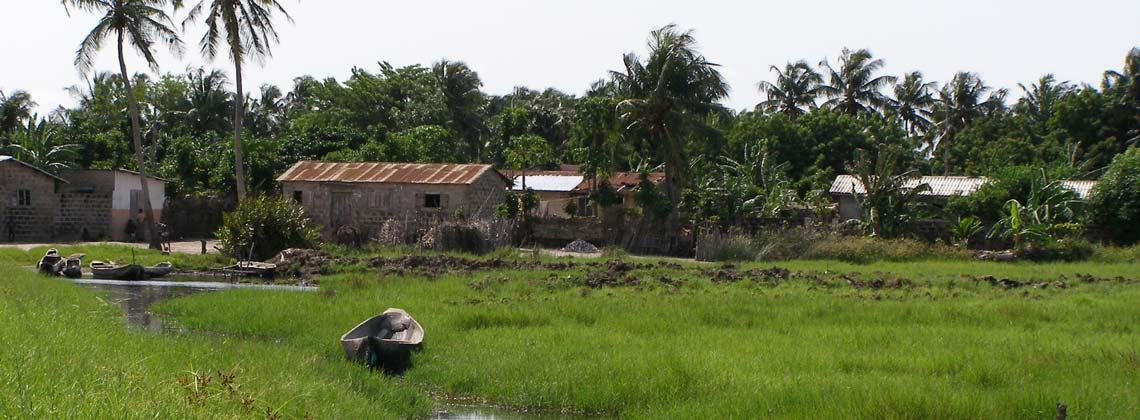 Village Avlékété au Bénin