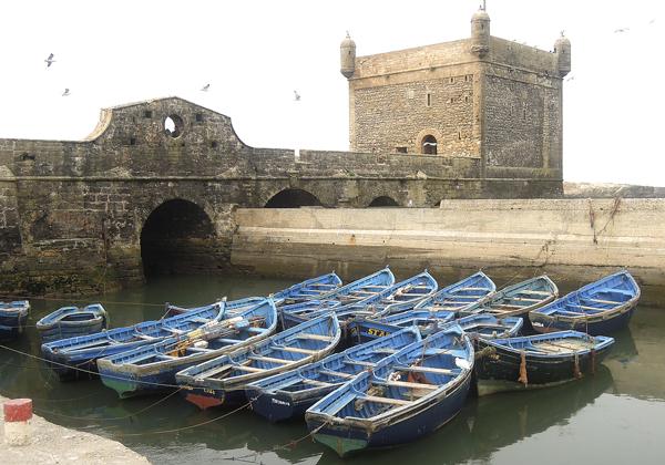 TDS Voyage - Tourisme équitable et solidaire - Maroc - Essaouira port fortin
