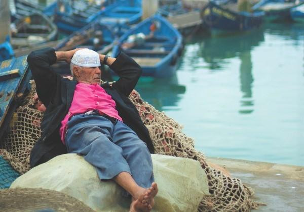 TDS Voyage - Tourisme équitable et solidaire - Maroc - Essaouira - Port - Pêcheur