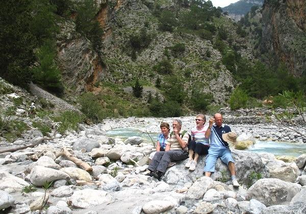 TDS Voyage - Tourisme équitable et solidaire - Crète - Gorges d'Imbros - Voyageurs