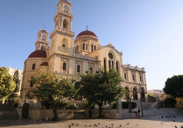 TDS Voyage - Tourisme équitable et solidaire - Crète - Héraklion - Cathédrale