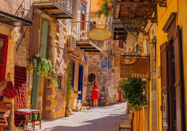 TDS Voyage - Tourisme équitable et solidaire - Crète - La Canée - Vieille ville