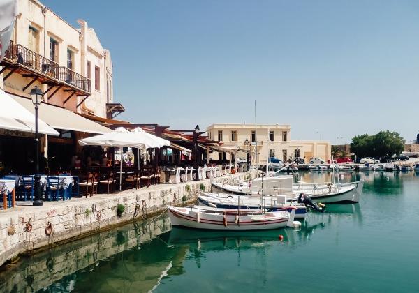 TDS Voyage - Tourisme équitable et solidaire - Crète - Réthymnon - Port