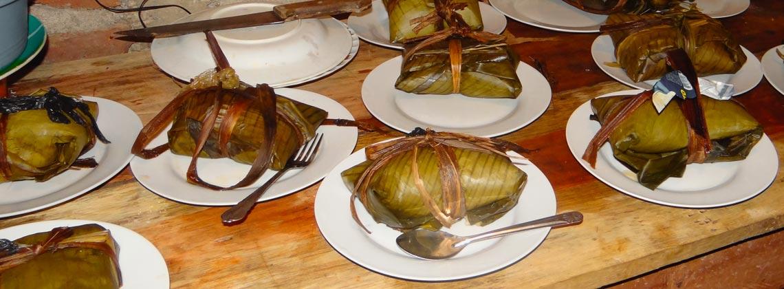 La recette du nacatamal - Nicaragua