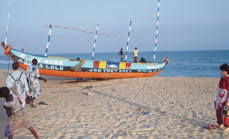 TDS Voyage au Bénin - Pirogue