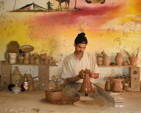 TDS Voyage - Tourisme solidaire - Maroc - Poterie