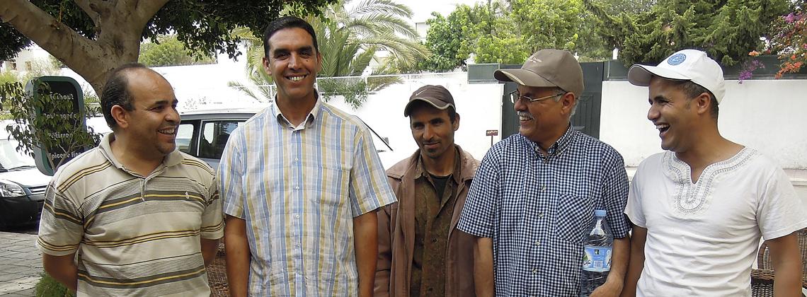Portrait d'Hassan, accompagnateur TDS Voyage au Maroc, équipe argan Ilalen
