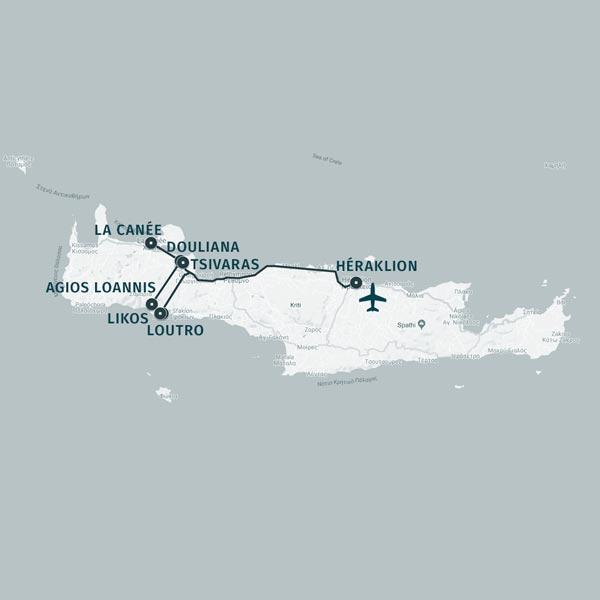 TDS Voyage - Les petits villages crétois