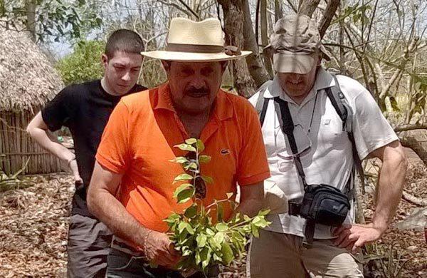 Portrait de Francisco, guide francophone TDS au Mexique