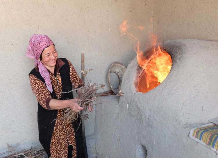 TDS Voyage solidaire ouzbekistan village Shaftoli