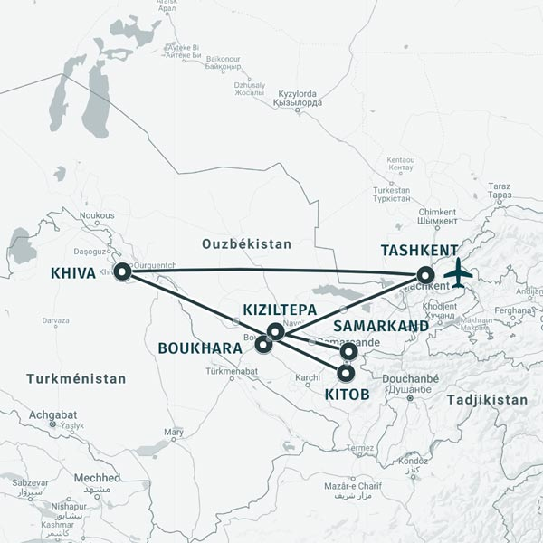 TDS Voyage - Vacances responsables en Ouzbékistan
