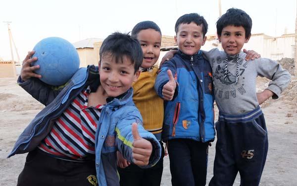 Enfants d'Ouzbékistan