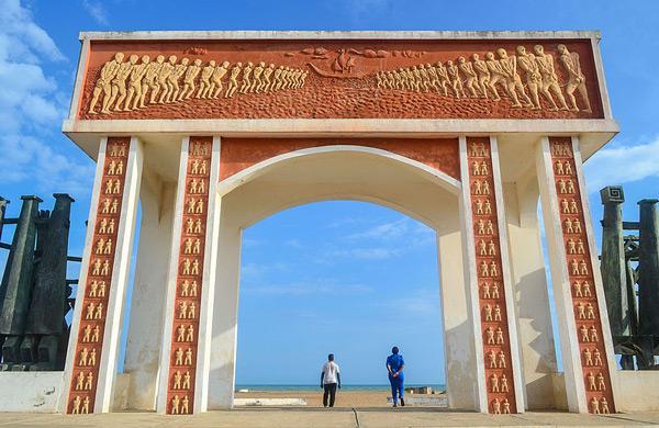 TDS Voyage - Door of no return Ouidah Benin