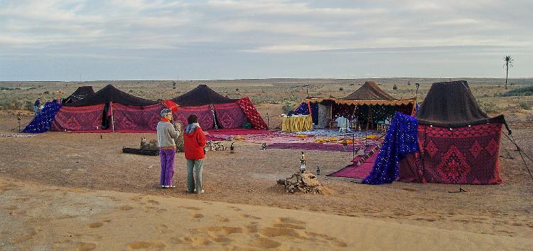 TDS Voyage - Tourisme équitable et solidaire - Bivouac - Dunes de Rasmouka