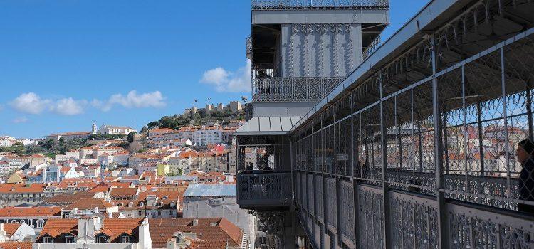 TDS Voyage - Tourisme équitable et solidaire - Lisbonne - Chiado - Elevador Santa Justa
