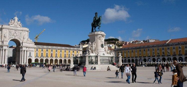 TDS Voyage - Tourisme équitable et solidaire - Lisbonne - Baixa - Place du Commerce